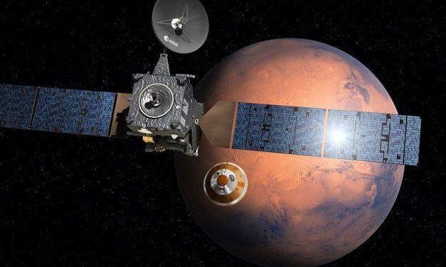 Mars Lander Lost In Space